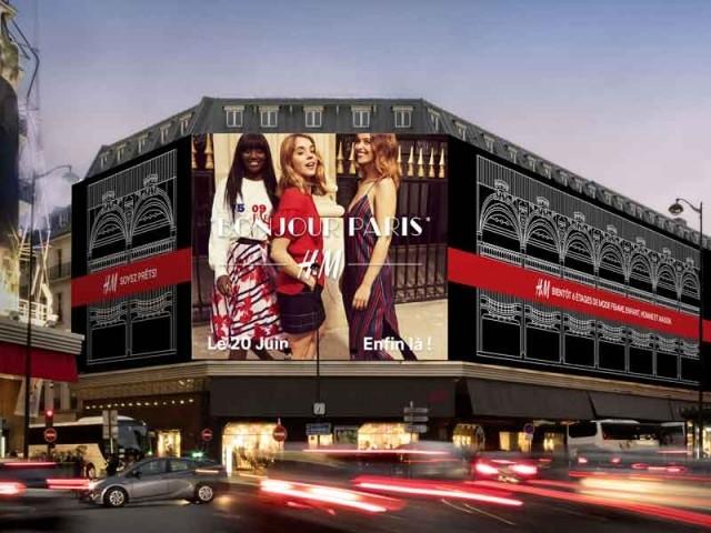 paris flagship H&M