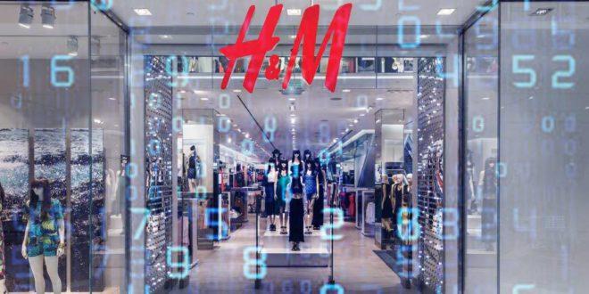 H&M, marque la plus populaire sur internet