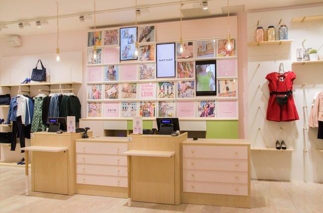 naf naf concept-store retail