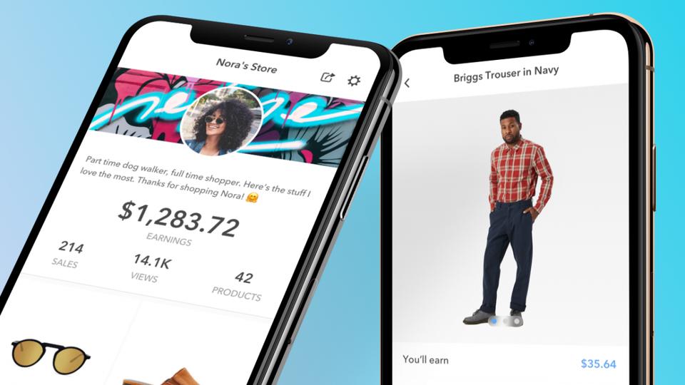 store new app
